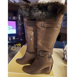 Michael Kors Lara Wedge Boots
